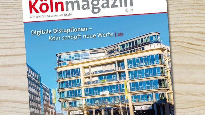 Health 4.0 am Kölner Neumarkt – Advertorial aus dem Kölnmagazin 1/2018